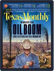 Texas Monthly (Digital) Subscription October 24th, 2013 Issue