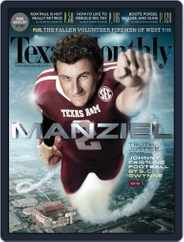 Texas Monthly (Digital) Subscription August 26th, 2013 Issue