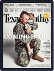 Texas Monthly (Digital) Subscription June 20th, 2013 Issue