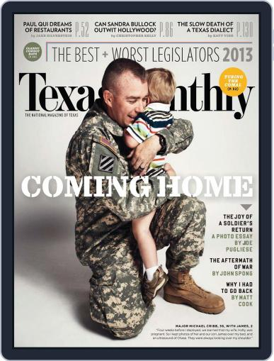 Texas Monthly (Digital) June 20th, 2013 Issue Cover