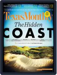Texas Monthly (Digital) Subscription April 25th, 2013 Issue