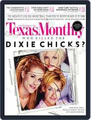 Texas Monthly (Digital) Subscription March 29th, 2013 Issue
