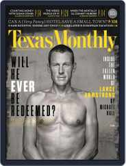 Texas Monthly (Digital) Subscription February 21st, 2013 Issue