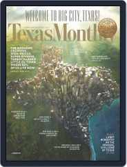Texas Monthly (Digital) Subscription January 24th, 2013 Issue