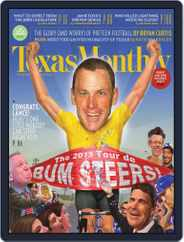 Texas Monthly (Digital) Subscription December 20th, 2012 Issue