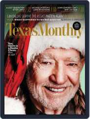 Texas Monthly (Digital) Subscription November 22nd, 2012 Issue