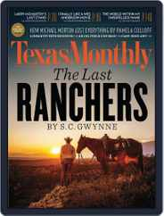Texas Monthly (Digital) Subscription October 18th, 2012 Issue