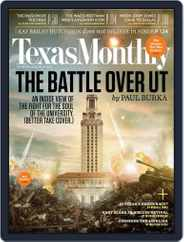 Texas Monthly (Digital) Subscription September 21st, 2012 Issue