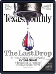 Texas Monthly (Digital) Subscription June 21st, 2012 Issue