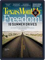 Texas Monthly (Digital) Subscription May 24th, 2012 Issue
