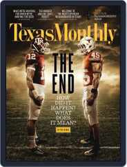 Texas Monthly (Digital) Subscription October 20th, 2011 Issue