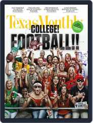 Texas Monthly (Digital) Subscription August 19th, 2011 Issue