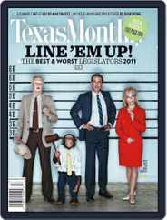 Texas Monthly (Digital) Subscription June 23rd, 2011 Issue