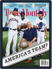 Texas Monthly (Digital) Subscription April 22nd, 2011 Issue