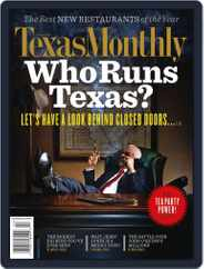 Texas Monthly (Digital) Subscription January 20th, 2011 Issue