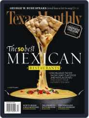 Texas Monthly (Digital) Subscription November 19th, 2010 Issue