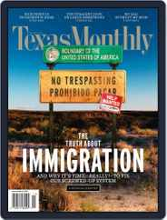 Texas Monthly (Digital) Subscription October 22nd, 2010 Issue