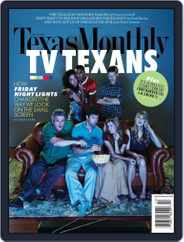 Texas Monthly (Digital) Subscription September 21st, 2010 Issue