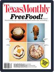 Texas Monthly (Digital) Subscription March 25th, 2009 Issue