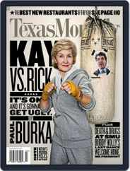 Texas Monthly (Digital) Subscription January 22nd, 2009 Issue