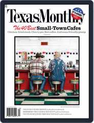 Texas Monthly (Digital) Subscription November 26th, 2008 Issue