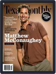 Texas Monthly (Digital) Subscription October 21st, 2008 Issue