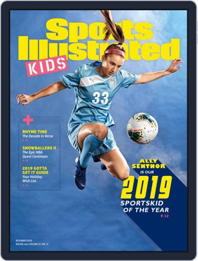 Sports Illustrated Kids (Digital) December 1st, 2019 Issue Cover