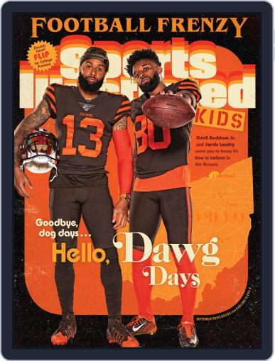 Sports Illustrated Kids (Digital) September 1st, 2019 Issue Cover