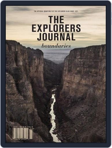 The Explorers Journal September 16th, 2019 Digital Back Issue Cover