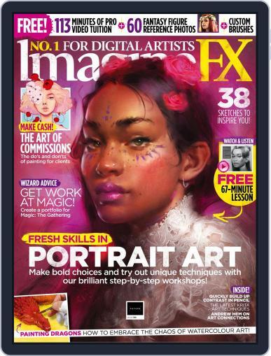 ImagineFX December 1st, 2019 Digital Back Issue Cover