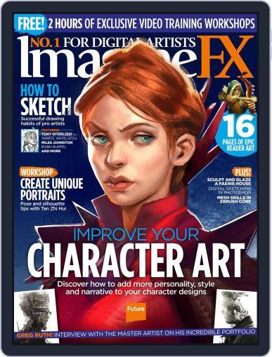 ImagineFX November 1st, 2017 Digital Back Issue Cover