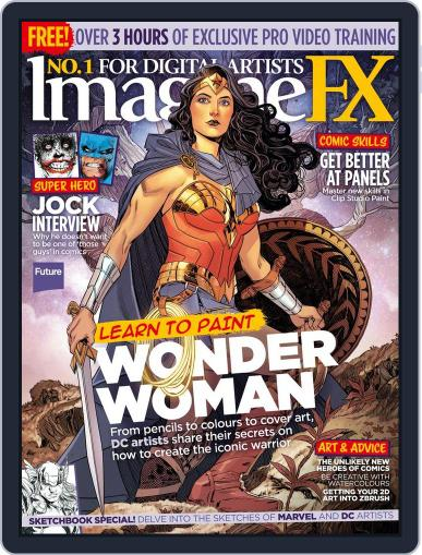 ImagineFX April 1st, 2017 Digital Back Issue Cover