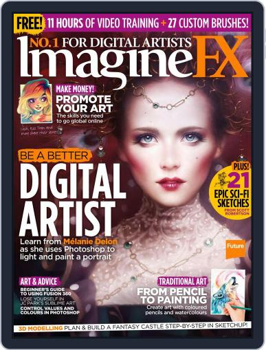 ImagineFX March 24th, 2017 Digital Back Issue Cover