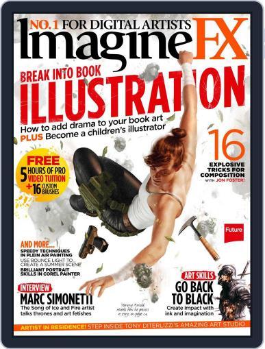 ImagineFX January 1st, 2017 Digital Back Issue Cover