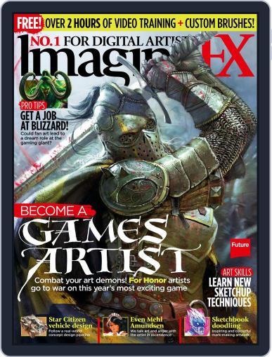 ImagineFX December 1st, 2016 Digital Back Issue Cover