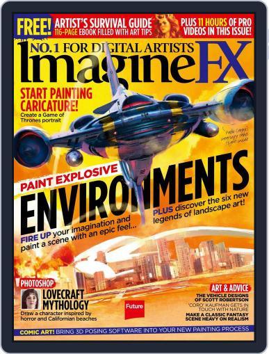 ImagineFX September 30th, 2016 Digital Back Issue Cover