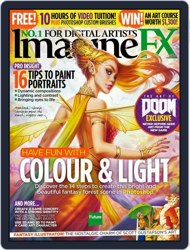 ImagineFX July 15th, 2016 Digital Back Issue Cover