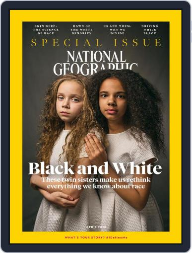 National Geographic April 1st, 2018 Digital Back Issue Cover