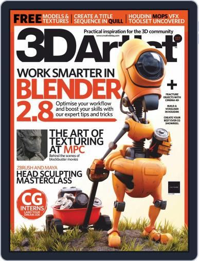 3D Artist (Digital) January 1st, 2020 Issue Cover