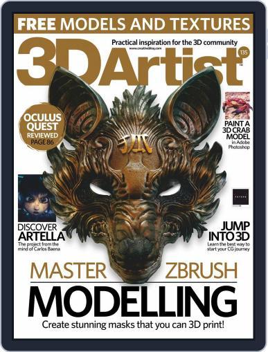 3D Artist (Digital) November 1st, 2019 Issue Cover