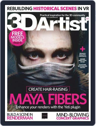 3D Artist September 1st, 2019 Digital Back Issue Cover