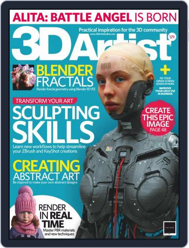 3D Artist (Digital) May 1st, 2019 Issue Cover