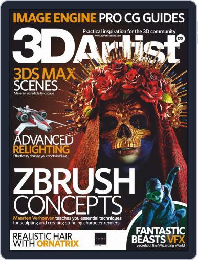 3D Artist April 1st, 2019 Digital Back Issue Cover
