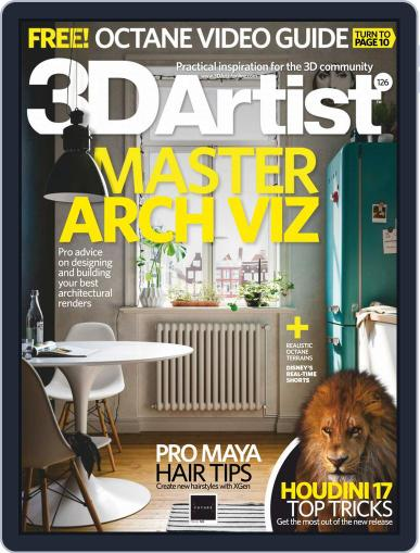 3D Artist (Digital) February 1st, 2019 Issue Cover