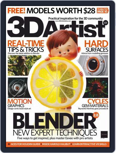 3D Artist January 1st, 2019 Digital Back Issue Cover