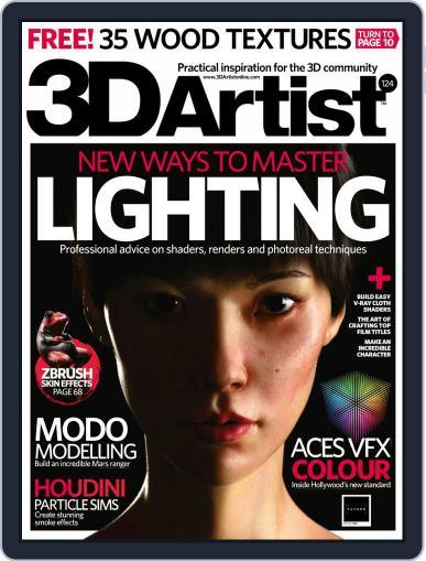 3D Artist December 1st, 2018 Digital Back Issue Cover