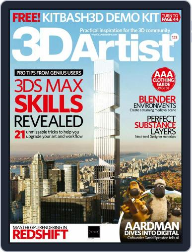 3D Artist November 1st, 2018 Digital Back Issue Cover