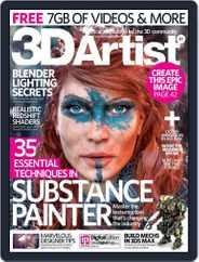 3D Artist (Digital) Subscription August 10th, 2016 Issue
