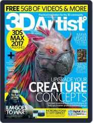 3D Artist (Digital) Subscription June 15th, 2016 Issue