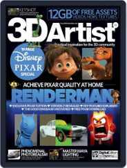 3D Artist (Digital) Subscription November 27th, 2015 Issue